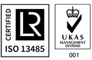 ISO13485 certified icon